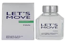 ادكلن بنتون لتس موو مردانه-Benetton Lets Move